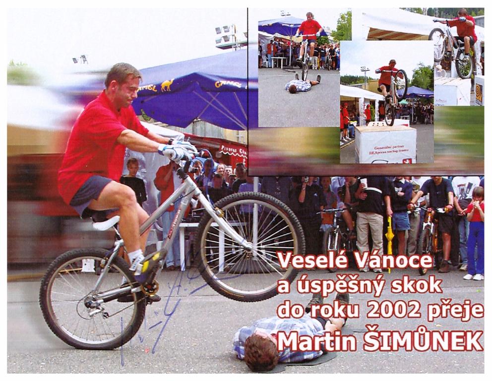 Martin Simunek - wielokrotny medalista Mistrzostw Świata, zawodnik klubu Aquila - doskonały wzór dla młodych adeptów kolarstwa