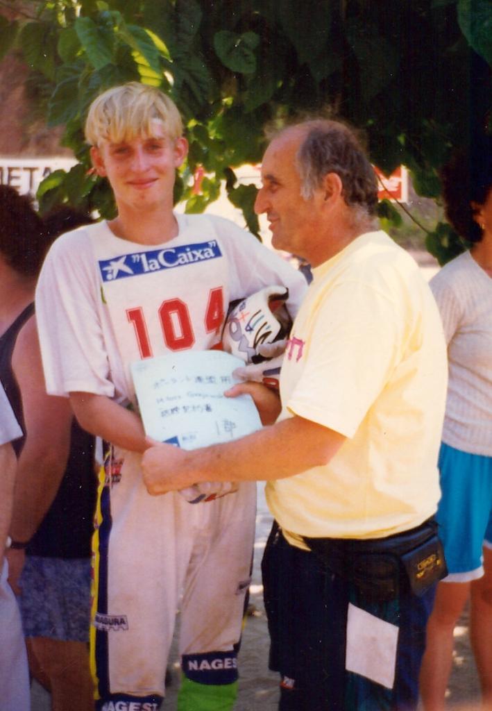 Miłosz Grajewski - wielokrotny Mistrz Polski, II v-ce Mistrz Świata kat. Elite z 1998r.
