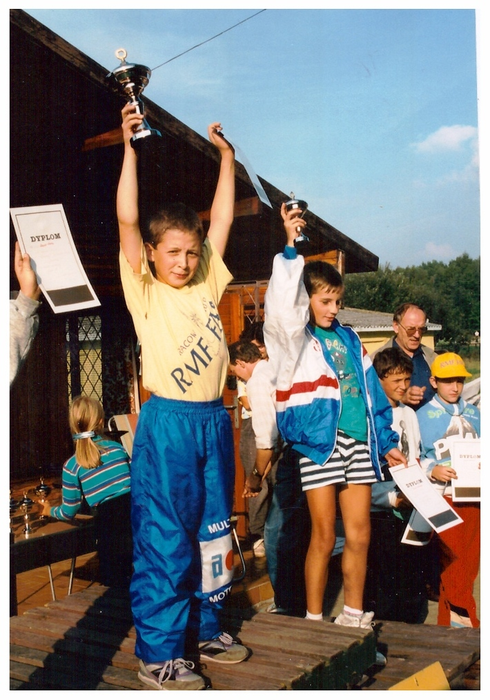 Jan Chmielewski - medalista Mistrzostw Polski, a także Mistrz Polski w rajdach samochodowych