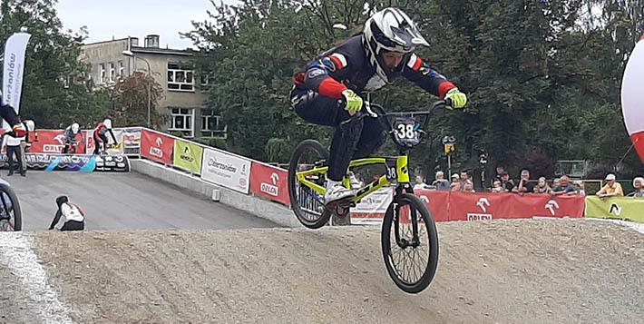 Aquila na Mistrzostwach Polski BMX