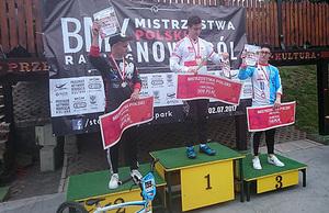 Doskonały start Aquili na Mistrzostwach Polski w BMX